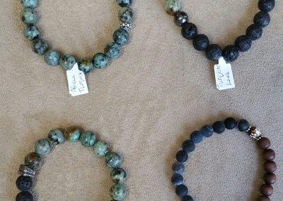 Unisex mala bracelets
